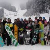 snowboard coach basi level 2 group photo