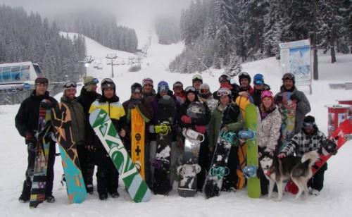 snowboard coach basi level 2 group photo