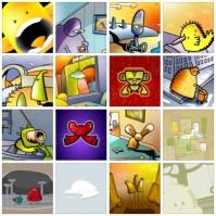 Free Blurburger iPhone Cool Wallpapers Set 2