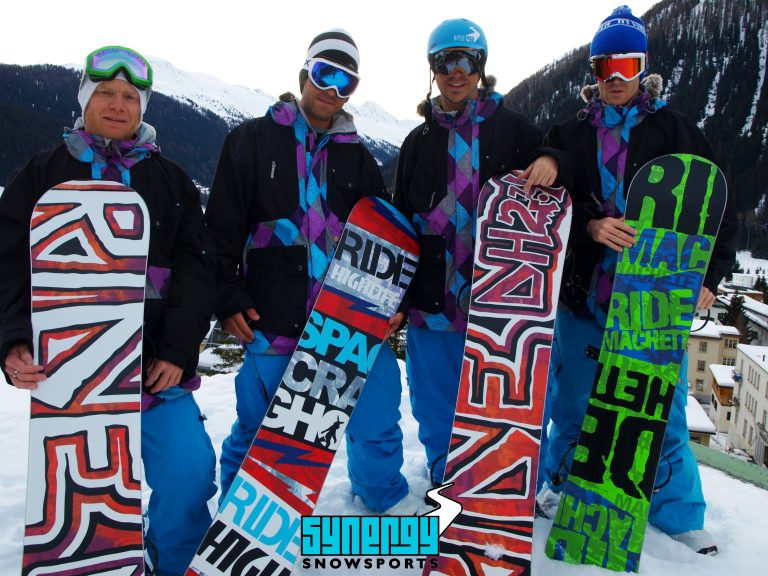 Synergy snowsports 2011 team photo Ride snowboards, Chris Skinner