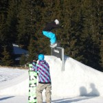Chris in lenzerheide, 50-50 wall stall to backside 270 out