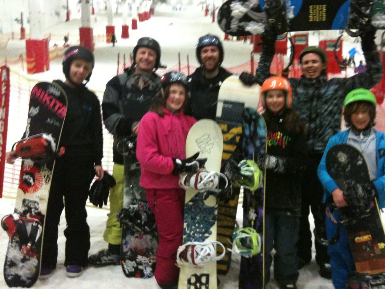 Definition Milton Keynes Snowboard Freestyle course 23/24 April