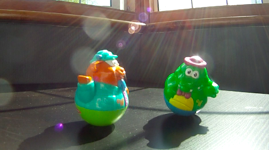 Weebles wobble snowboarders!