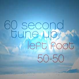 left-foot-50-50 snowboard